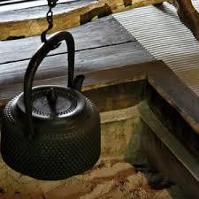 鉄のやかん 囲炉裏
