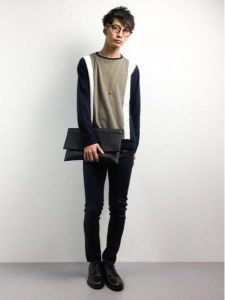 男性 服装 シンプルコーデ
