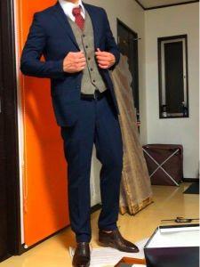 男性 服装 スーツ ベスト