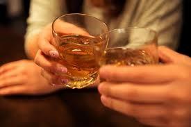 梅酒で乾杯