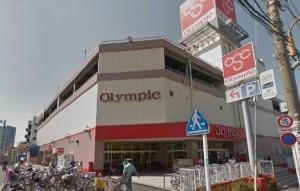 オリンピック隅田文花店屋上駐車場