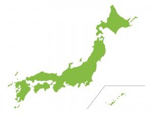 日本 地図 イラスト