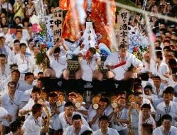 博多祇園山笠 台上がり