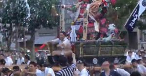 博多祇園山笠 追い山笠