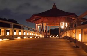 奈良 燈花会 浮見堂