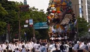 博多祇園山笠 追い山ならし