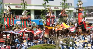 久喜提灯祭り 山車