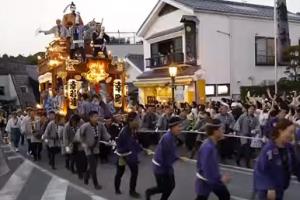 成田祇園祭 総引き
