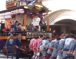 土浦きらら祭り 山車
