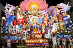 八戸三社大祭 山車
