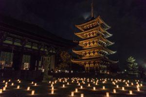 奈良燈花会 興福寺
