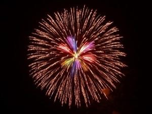 大輪の打ち上げ花火