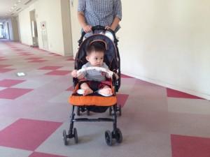 赤ちゃんinベビーカー