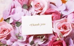 花束 メッセージカード