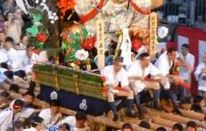 博多祇園山笠 追い山