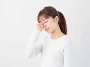 目の疲れ 女性
