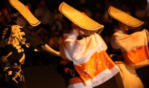 おわら風の盆 踊り子