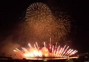 なにわ淀川花火大会 打ち上げ花火