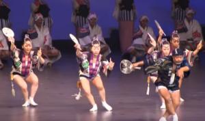 徳島阿波踊り ステージ
