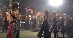大牟田大蛇山まつり 女踊り隊