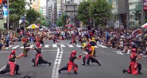 新宿エイサーまつり 演舞