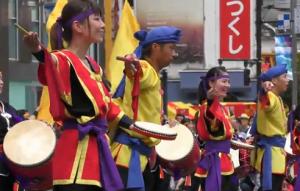 新宿エイサーまつり 琉球國祭り太鼓