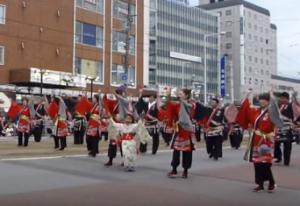 函館港まつり パレード
