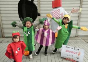 阿佐谷パールセンター ハロウィン仮装コンテスト 3分クッキング