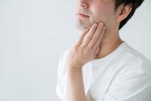 男性 顔 肌