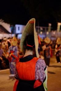 西馬音内盆踊り 女性