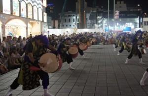 新宿エイサー 夜の部