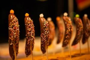 祭り 屋台 チョコバナナ