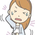 乾燥肌 女性 かゆみ イラスト