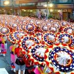 鳥取しゃんしゃん祭2017の日程と見どころ。花火鑑賞スポットは?