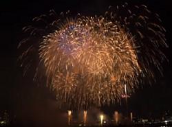 なにわ淀川花火大会 巨大打ち上げ花火
