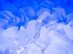 氷 溶け方 観察