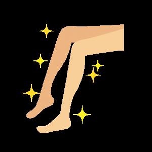 女性 足 イラスト