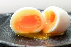 温泉卵 実験