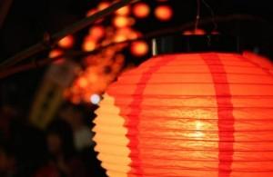 山口七夕ちょうちんまつり 赤提灯