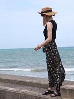 モノトーン 帽子