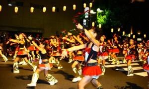 倉敷天領夏祭り 踊り