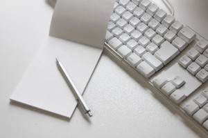 パソコンキーボード メモ ペン