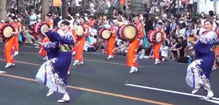 盛岡さんさ踊り さんさパレード