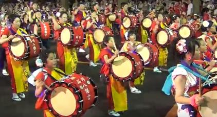 盛岡さんさ踊り パレード
