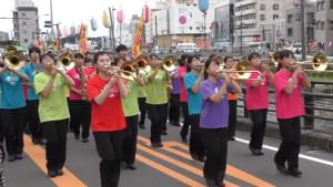 秦野たばこ祭り パレード