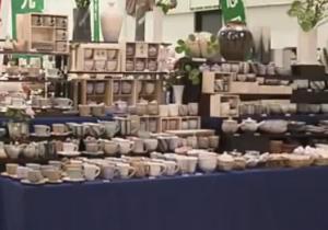 萩焼 たくさんの陶器