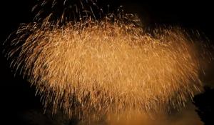 調布 巨大な打ち上げ花火