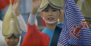 南越谷阿波踊り 踊り子