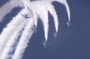 小松基地航空祭 ブルーインパルス 編隊飛行