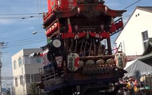 渋川へそ祭り 神輿
